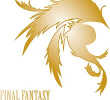 Final Fantasy Minimalist Calendar by agustindesigner