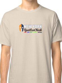 New York Spartan Chick orange/blue Classic T-Shirt