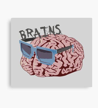 Cool Brains Canvas Print