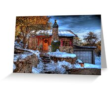 The Storybook Cottage Greeting Card