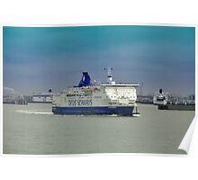 Navegando el canal de la Mancha..... Poster