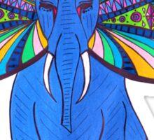 Elephant Butterfly  Sticker