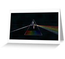 Dark Side of The Moon - Pink Floyd Greeting Card