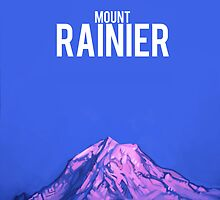 Mount Rainier by Brad Collins