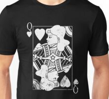 Justice Royalty - Queen of Truth (Pure White) Unisex T-Shirt