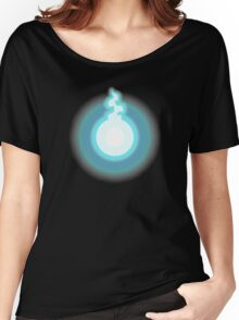 Glowing Blue Soul Women's Relaxed Fit T-Shirt