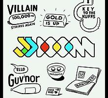 MF DOOM - JJ DOOM Keys To The Kuffs by Real-Entity