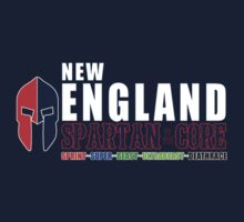 New England Spartan Men red/blue by CertainDeath