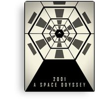 2001: A Space Odyssey (Fade Variant) Canvas Print