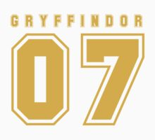 Gryffindor 07 Kids Clothes