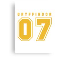 Gryffindor 07 Canvas Print