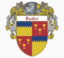 Butler Coat of Arms/Family Crest by William Martin