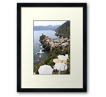Entering Cinque Terre Framed Print