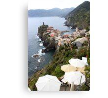 Entering Cinque Terre Canvas Print