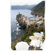 Entering Cinque Terre Poster