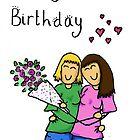 Happy Birthday - gay woman by amiemo162