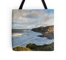 Cove Bay, Hopeman, December High Tide Tote Bag