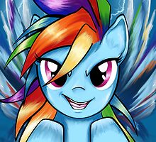 Rainbow Dash by AngelTripStudio
