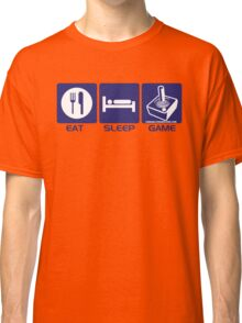 Eat Sleep Game Retro Classic T-Shirt