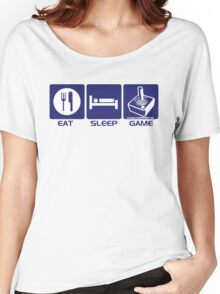 Eat Sleep Game Retro Women's Relaxed Fit T-Shirt