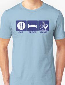 Eat Sleep Game Retro Unisex T-Shirt