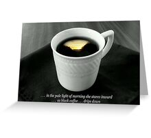 Pale Light of Morning Greeting Card