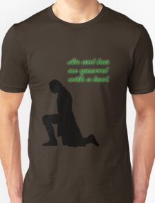An Ant Has No Quarrel With A Boot Unisex T-Shirt