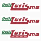 Daily Turismo Sticker 3-Pack by DailyTurismo