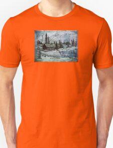 Light beyond the trees T-Shirt
