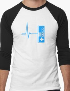 Gamer Heart Beat Men's Baseball ¾ T-Shirt