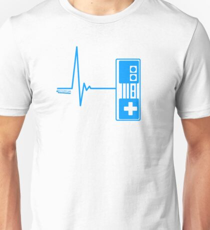 Gamer Heart Beat Unisex T-Shirt