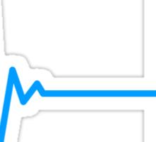 Gamer Heart Beat Sticker