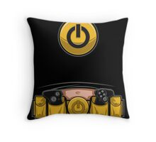 Super Geek Utility Belt Throw Pillow