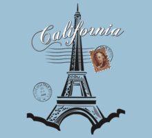 California, France Baby Tee