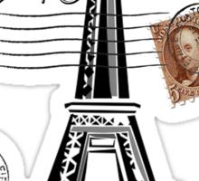 California, France Sticker