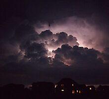 The sky over the sound by KayZeg