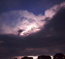 Really lights up the night's sky by KayZeg