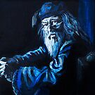 Albus Dumbledore  by iszi