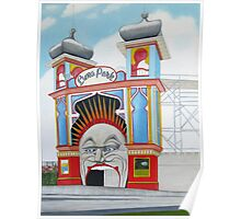Luna Park blank card Poster