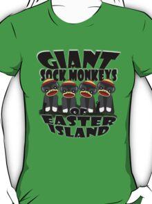 Giant Sock Monkeys of Easter Island T-Shirt