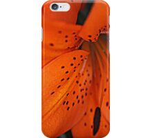 Orange Lilly Phone case iPhone Case/Skin