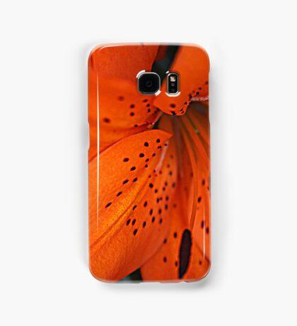 Orange Lilly Phone case Samsung Galaxy Case/Skin