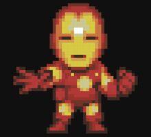 Ironman. Pixel art. by Bodera