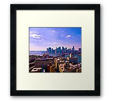 A View from Dumbo - NYC Framed Print
