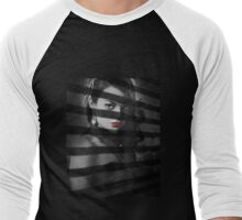 Emma Stone Sin City Men's Baseball ¾ T-Shirt
