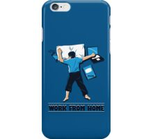 Work from Home iPhone Case/Skin