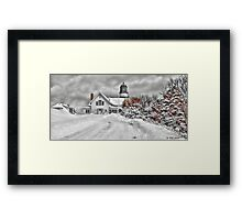 Cape Elizabeth Light Framed Print