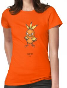 Torchic Burtonesque Womens Fitted T-Shirt