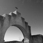 San Xavier Del Blac Mision by strayfoto