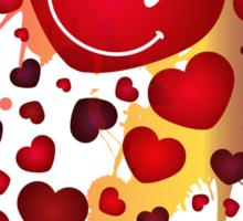 Heart_type_Virus Sticker
